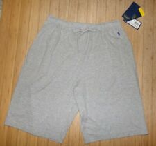 NWT MENS POLO RALPH LAUREN COTTON LOUNGE SHORTS~GRAY~MED