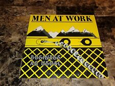 Men At Work Rare Business As Usual Vinyl LP Record Colin Hay Pop Rock Classic