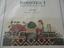 Design Connection Counted Crosstitch Kit Rooster 1 15 3/4x7 1/8 L. Korsgaden