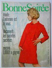 ►BONNE SOIREE 2324/1966- BARBARA - CATHERINE LANGEAIS - JACQUELINE HUET - CAURAT