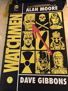 Watchmen The Deluxe Edition by ALAN MOORE: Like New, ILLUSTRATED, SMOKE FREE