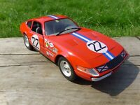 TECHNO GIODI 1:18 1969 FERRARI DAYTONA 365 GTB/4 COMPETIZIONE RED RACING CAR TOY