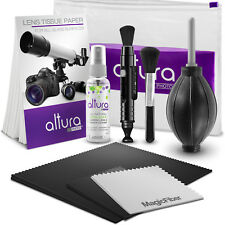 Altura Photo Camera Cleaning Kit with Lens Solution Spray, Lens Pen and Blower