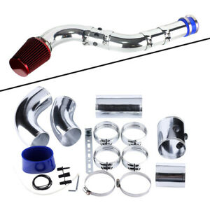 """3"""" 76mm Universal Multiple Combined Cold Car Air Intake System Pipe Hose+Filter"""