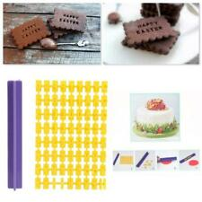 Mini Alphabet Number Letter Cookie Biscuit Stamp Cutter Embosser Cake Mould 1 Pc