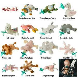 Mary Meyer WUBBANUB Soothie Baby Pacifier Plush Animal Holder Llama *Choose NEW