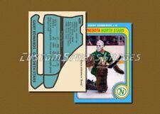 Gary Edwards - Minnesota North Stars - Custom Hockey Card  - 1978-79