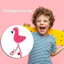 Hot Dog Toys Pink Stuffed Screaming Soft Flamingo For Small Large Dogs GN
