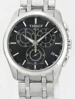 TISSOT Couturier Chronograph T35617A Stainless Steel Mens Wrist Watch