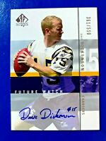 2001 SP Authentic Future Watch Dave Dickenson Auto RC /550