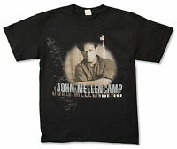 John Mellencamp In Your Town (Canada Tour) Black T Shirt New Cougar Official