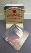 NEW CHIMAY BELGIAN TRAPPIST WOODEN STAND + 20 PACK OF COASTERS!