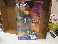 1997 African American Barbie Doll  Star Skater  NRFB  2002 Slat Lake Olympics