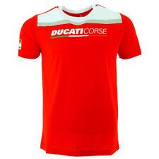 Camisetas de hombre rojos Ducati color principal rojo