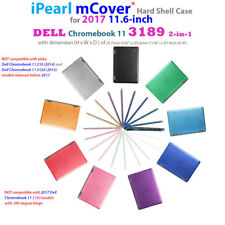 """NEW iPearl mCover® Hard Shell Case for 2017 11.6"""" Dell Chromebook 11 3189 laptop"""