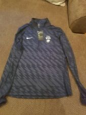 USA Olympic team Nike jacket quarter zip womans L new with tags