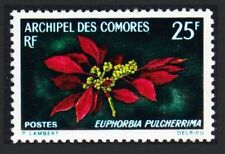 Mint Never Hinged/MNH Flowers Comoran Stamps
