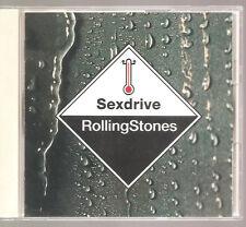 "ROLLING STONES ""Sexdrive"" 4 Track Japan CD + OBI"