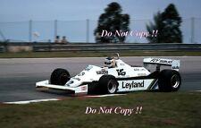 CARLOS REUTEMANN Williams FW07C WINNER GRAN PREMIO DEL BRASILE FOTOGRAFIA 1981 1