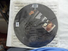 THE CHRISTIANS PICTURE DISC  WORDS WITH GENUINE AUTOGRAPHS ON FRONT COVER ALL 3