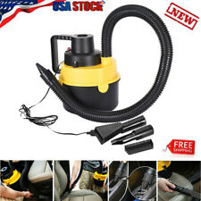 Car Vacuum Cleaner 12V With 120W For Auto Portable Wet Dry Handheld Duster