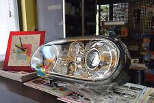FARI ANTERIORI VW GOLF 4 IV 1997-2003 CROMATI LENTICOLARI LOOK R32
