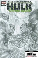IMMORTAL HULK #23 ALEX ROSS 2nd PRINT B&W SKETCH VARIANT COVER B