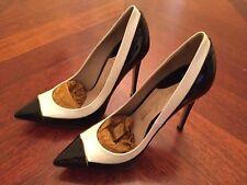 100% authentic fashion Le Silla shoes sexy, size 36,5 black & white