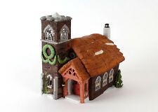 "Department 56 Heritage Village Dicken's Village Series ""Ivy Glen Church"" 1988"