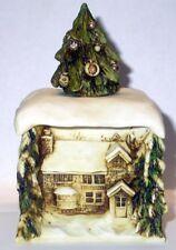 Harmony Kingdom Artist Neil Eyre Designs Christmas Holiday home box sculpture LE