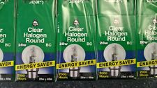 10 x BELL Eco Golf Ball 28w BC Halogen Clear - Top Quality Lamps