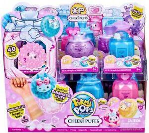 PIKMI POPS Surprise! Cheeki Puffs Scented Shimmer Powder Plush Soft Toy Bottle
