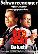 Red Heat ORIGINAL A0 Kinoplakat Arnold Schwarzenegger / James Belushi / P. Boyle