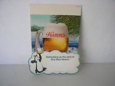 Vintage Hamm's Beer store ad 13x10 inches 1984 brand new