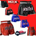 MRX Muay Thai Shorts Boxing Cage Fight Fighter MMA Kick Boxing Trunk Mens Womens