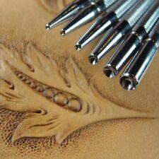 Steel Craft Japan - Seeder Stamps (6-Piece Set, Leather Stamping Tools)