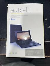 "New!! ZAGG Auto-Fit Keyboard Folio Case for 7"" Android Tablets"