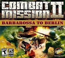 Combat Mission II: Barbarossa to Berlin (PC) BRAND NEW SEALED - WIN10, 8, 7, XP