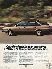 1982 Print Ad of 1983 VW Volkswagen Quantum