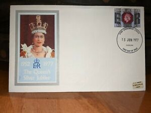 GB 1977 Silver Jubilee First Day Cover FDC #175