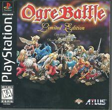 Ogre Battle limited edition ps1