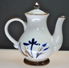 Vintage Stoneware Hand Painted Pitcher