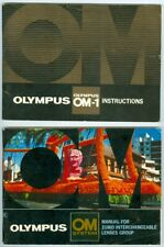 Beautiful Olympus Om-1 Instructions Manual, Ex+ Condition