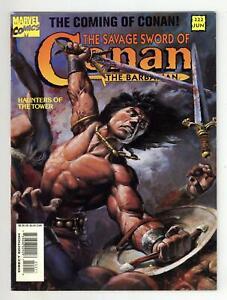 Savage Sword of Conan #222 FN- 5.5 1994
