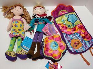 U2 DREAMTASTIC GROOVY GIRLS PRINCE, SIRI, SLEEPING BAG, Footstool Lot of 4
