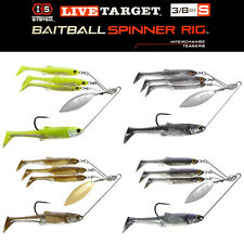 Live Target BaitBall Spinner Rig Umbrella Rig Bass Fishing CHOOSE YOUR COLOR!