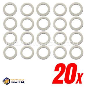 Mean Mug Auto 20x Oil Pan Drain Plug Washers Gaskets For Hyundai Kia 21513-23001
