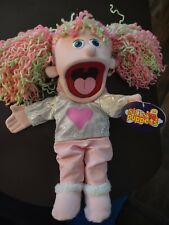"""Silly Puppets Kimmie (pink) 14"""" hand puppet NWT"""