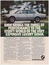 Original 1978 BMW 733i The Ultimate Driving Machine Vintage Print Ad