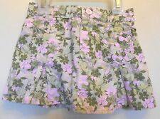 Infants. Toddler Girls, Green & Pink Tulip print Skirt w/ under shorts Size 24M